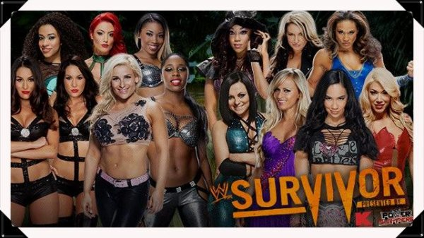 Survivor Series 2013 - Natalya, The Bellas, The Funkadactyls, JoJo & Eva Marie vs AJ LEE, TAMINA SNUKA, KAITLYN, ROSA, SUMMER RAE, AKSANA & ALICIA FOX