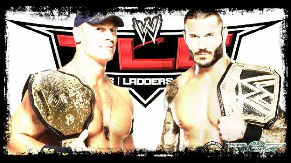 TLC 2013 - World Heavyweight Champion, John Cena vs WWE CHAMPION, RANDY ORTON / TLC Match