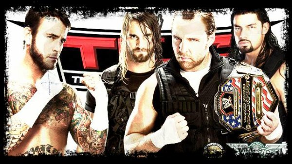 TLC 2013 - 3-on-1 Handicap Match, CM Punk vs THE SHIELD