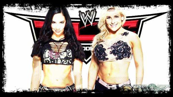 TLC 2013 - Divas Championship, AJ Lee vs NATALYA