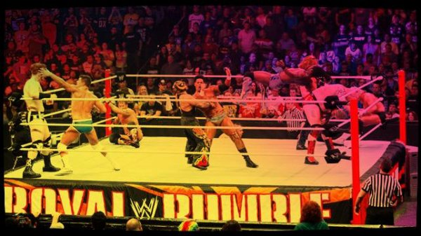 Royal Rumble 2014 - The 30-Superstar Royal Rumble Match / DOLPH ZIGGLER