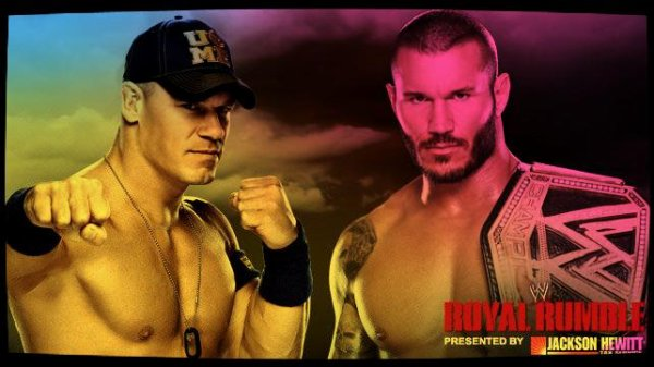 Royal Rumble 2014 - WWE World Heavyweight Championship, JOHN CENA vs Randy Orton