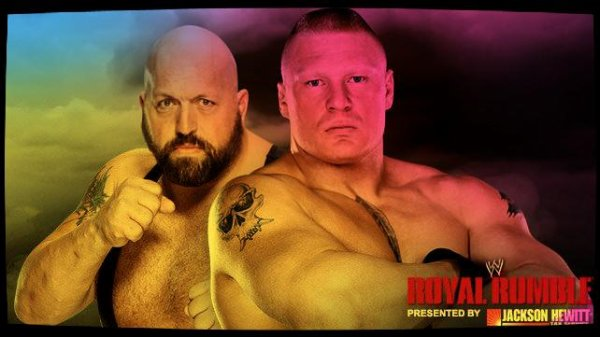 Royal Rumble 2014 - BIG SHOW vs Brock Lesnar