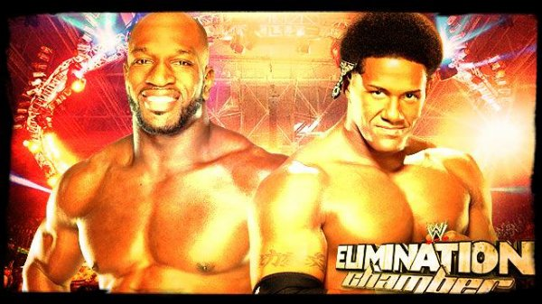 Elimination Chamber 2014 - Titus O'Neil vs DARREN YOUNG