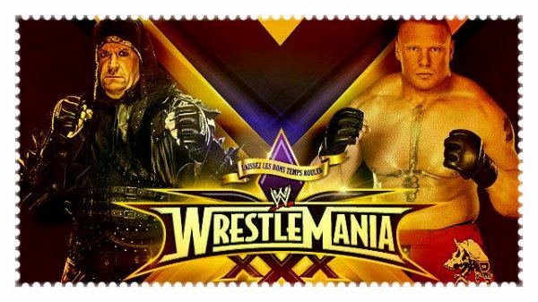 WrestleMania XXX - UNDERTAKER vs Brock Lesnar