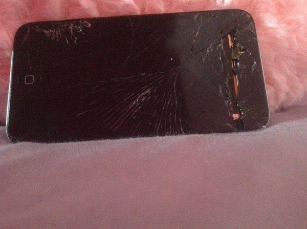 Mon iPod casser a cause de fb