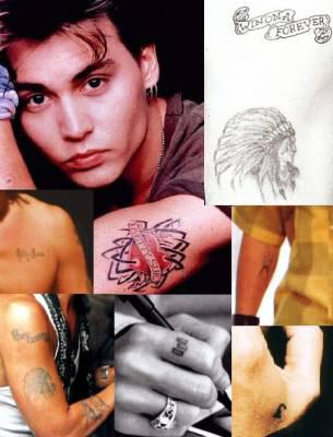 Informations Tatouages Johnny Depp