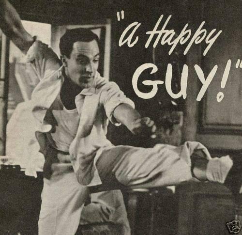 "Gene Kelly...""That's my boy Kelly, look at those magic feet!"""