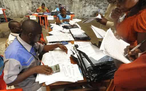 RDC : Une centaine d'employés de la CENI revoqués pour vol et fraude.