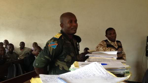 RDC : Procès Egangela : Une femme temoigne avoir été violée par ordre direct du colonel 106.
