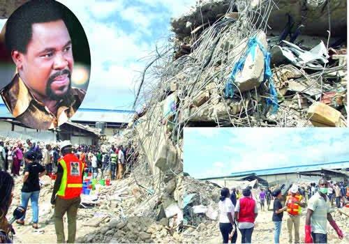 Nigeria : Une femme survit pendant quatre jours sous les débris du building de TB Joshua.