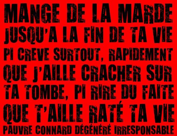 POUR TOI, FRÉDÉRIQUE DE MON COEUR MOI L'BATE