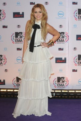 Miley aux Europe Music Awards 2010