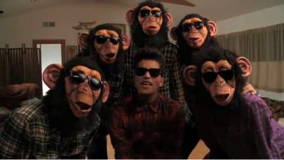 Le nouveau clip de Bruno Mars.