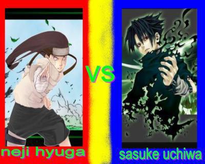 neji vs sasuke