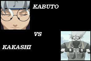 kabuto vs kakashi