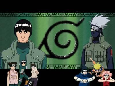 team gai contre team kakashi