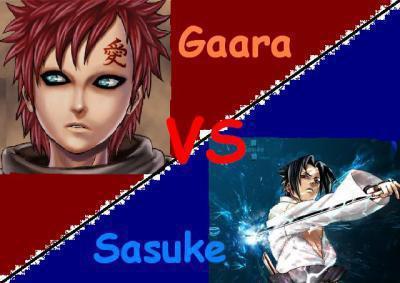 gaara ou sasuke