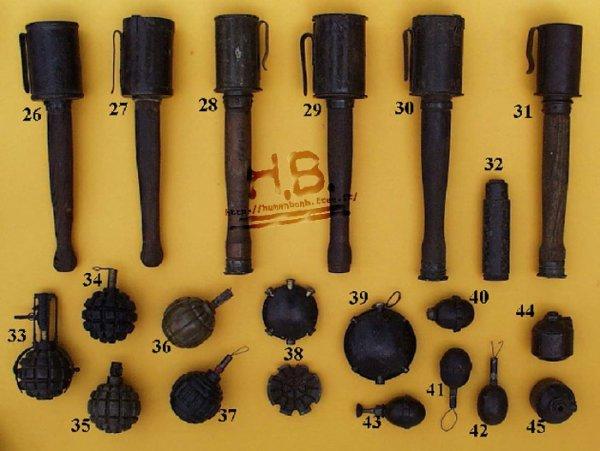 N°45  pour les 6 grenades allemande dans dessous =)