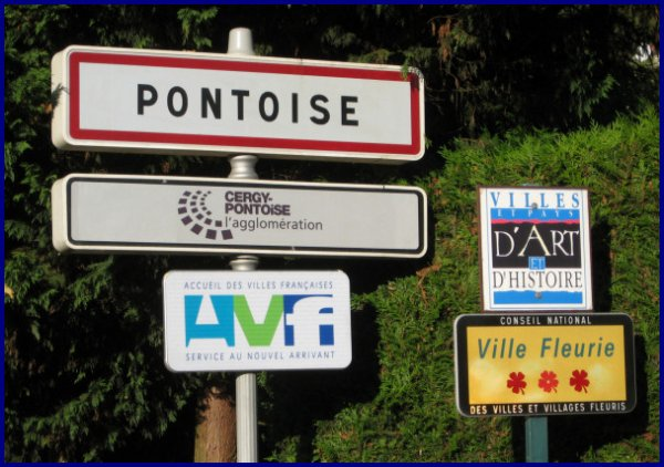 pontoise (203 kms) c est parti !!!