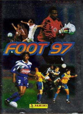 ALBUM  PANINI  FOOT  97  .