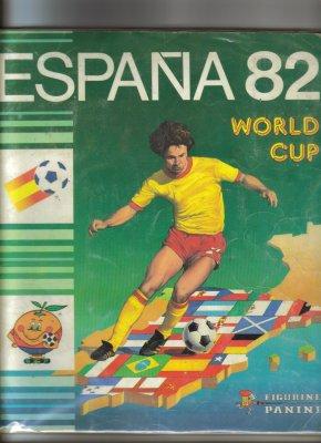 ALBUM PANINI  ESPAGNE  82  WORLD  CUP