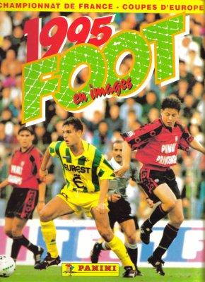 ALBUM PANINI  FOOT 95  (   1995  )