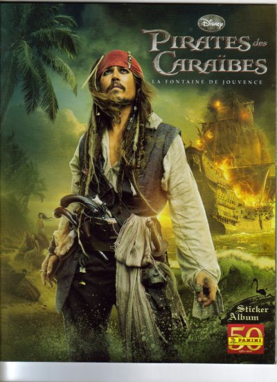 ALBUM PIRATES DES CARAIBES 4