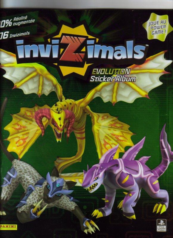 INVIZIMALS  EVOLUTION