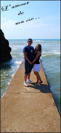 » De magnifiques vacances en amoureux .