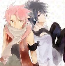 Natsu et grey!!!