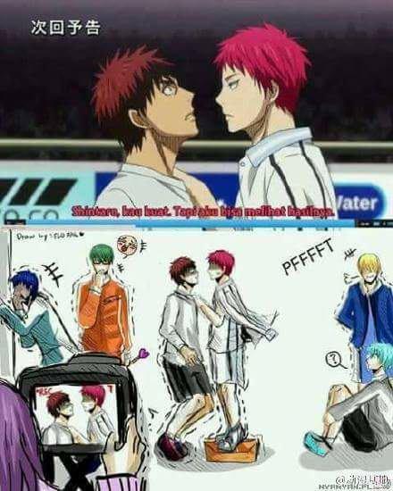 La vérité derrière kuroko no basket!!!!