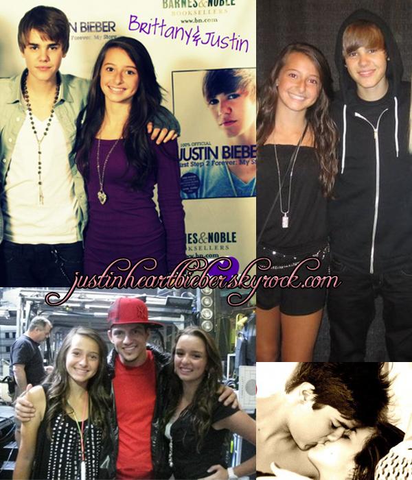 Justin et Brittany.