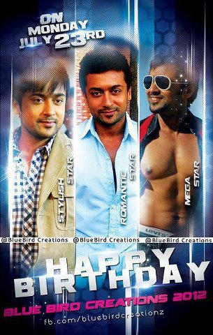 Our Heart Full Wish to Loving Suriya