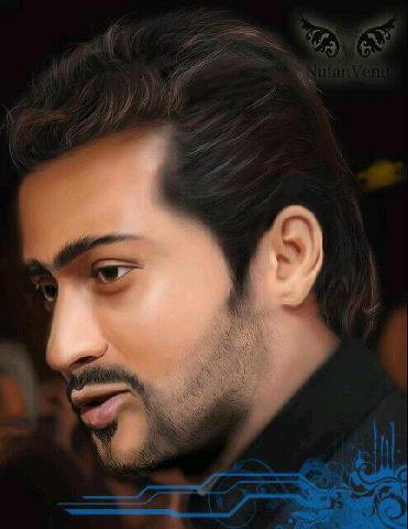 Attractive Digital Painting of Surya! ♥