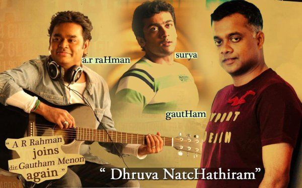 "Surya upcoming movie "" Dhruva Natchathiram """