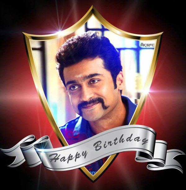 .Happy Birthday Surya