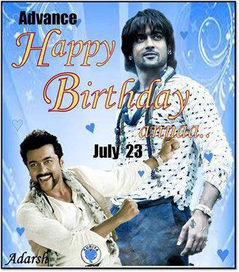 Advance Happy Bday #Suriya38