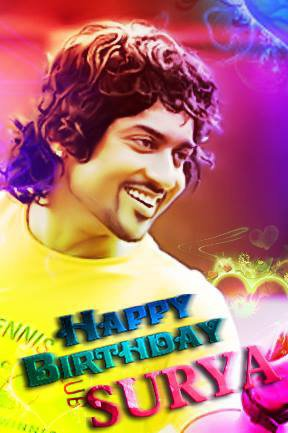 Happy Birthday Surya.God Bless U
