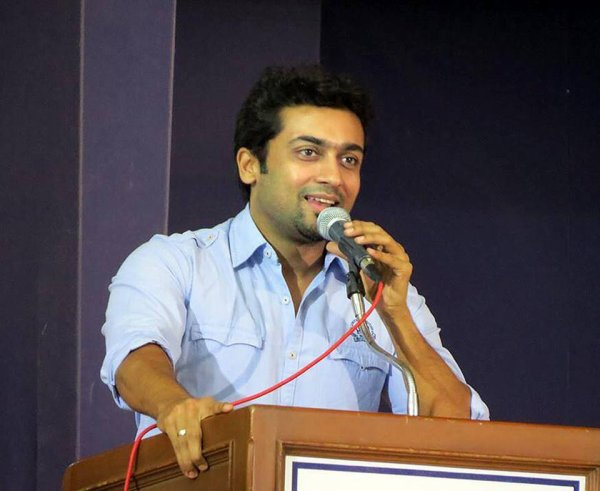 Surya Speech always sounds Sweet