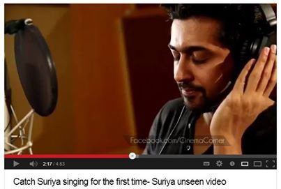 Surya Sung a Song
