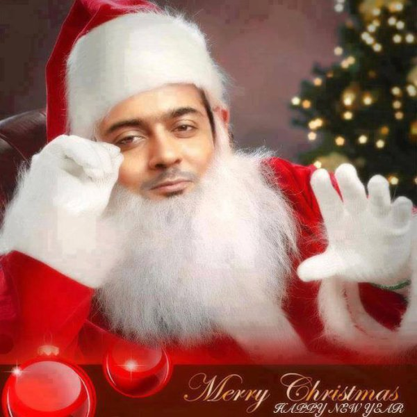Surya Wishes you a happy Merry christmas