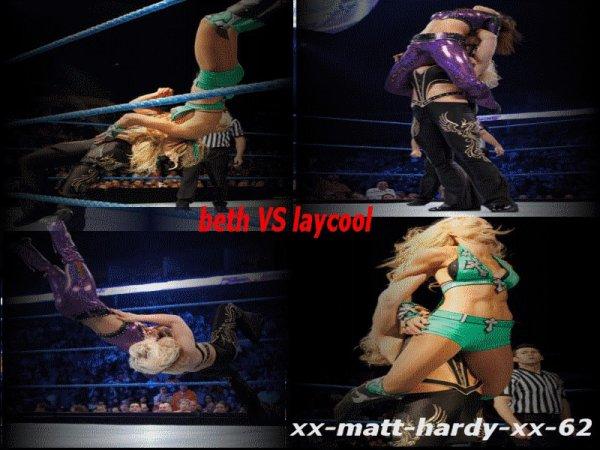 Beth Phoneix VS LayCool