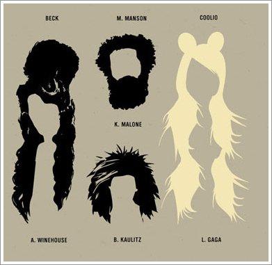 » Les coupes de cheveux les plus populaires de la musique