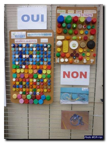 Recyclage : Les Bouchons en Plastique