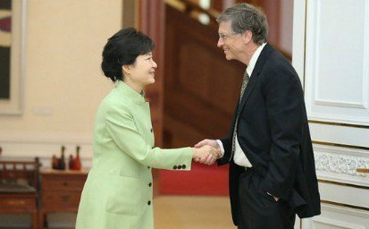 Bill Gates belittled South Korean President Park Geun-hye