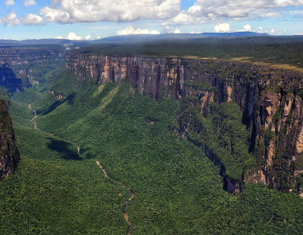 World Heritage Site: Canaima National Park