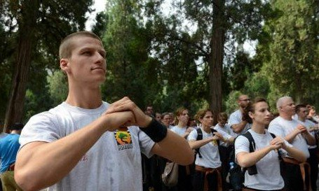 USA Shaolin Temple Shaolin lay disciples to visit China