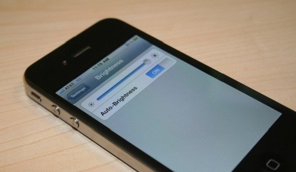How to make iphone5 with ambient light and automatically adjusts screen brightness