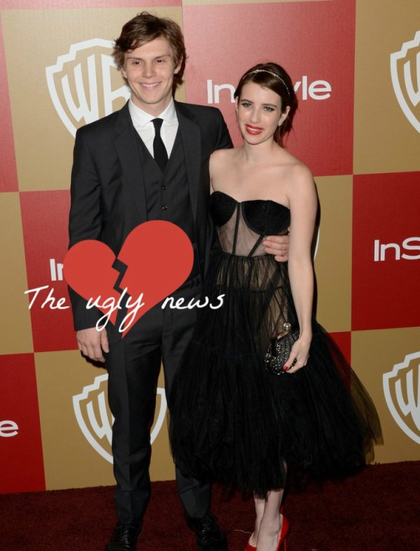 Evan Peters et Emma Roberts ont rompu! Qui sera la prochaine copine d'Evan? Je me porte volontaire...